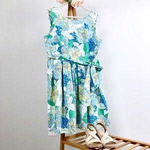 Dorothy Perkins Floral Sleeveless Cotton Dress 14